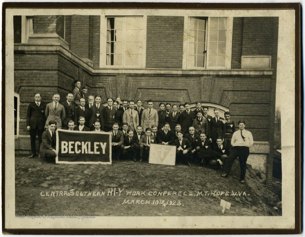 Men's Work Conference, March 10, 1923.