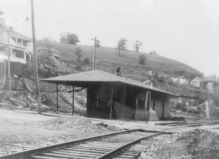 This site was the original location of the KGJ&E Depot.