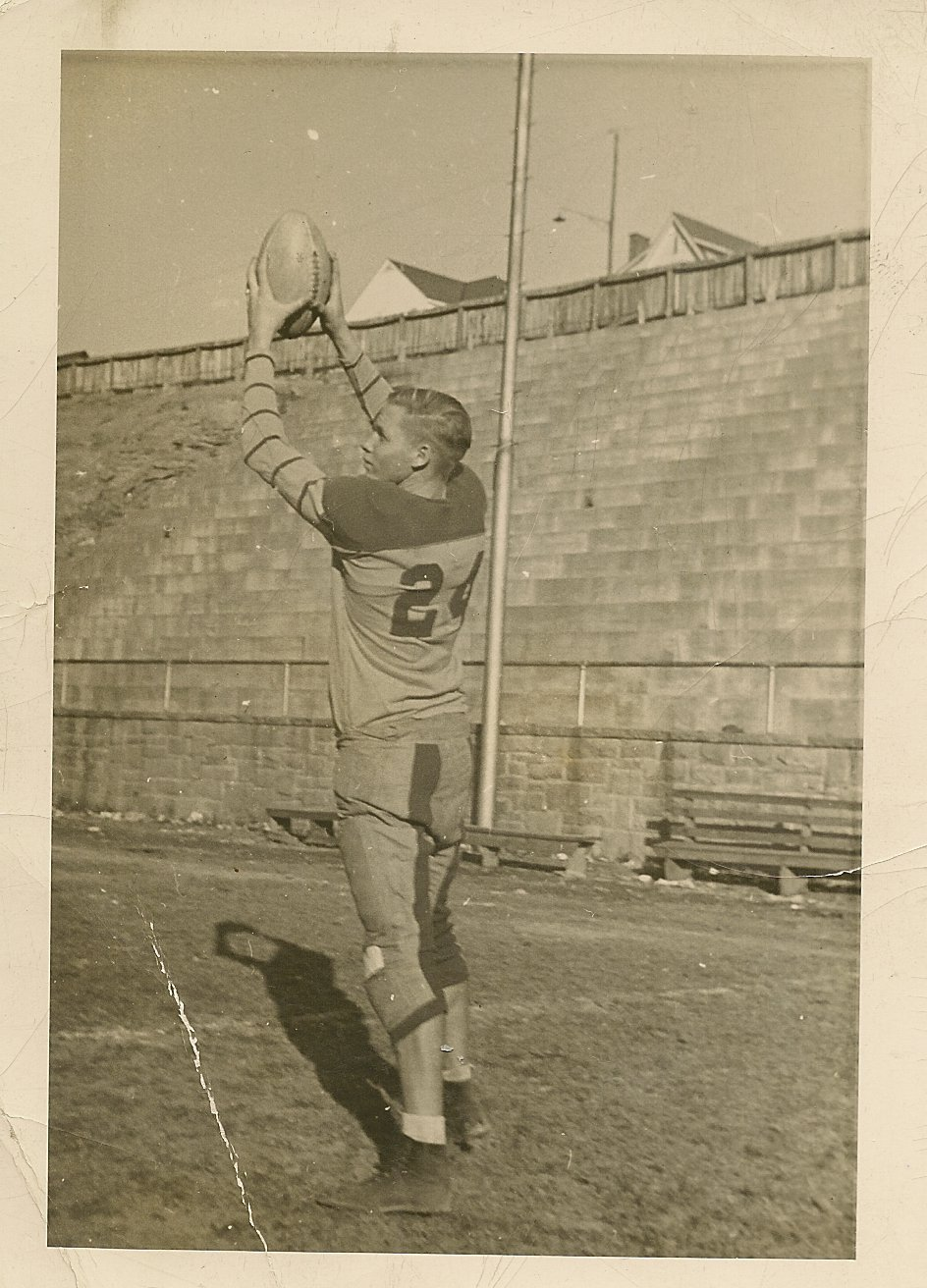 James Bender, Mount Hope High School football player, 1941