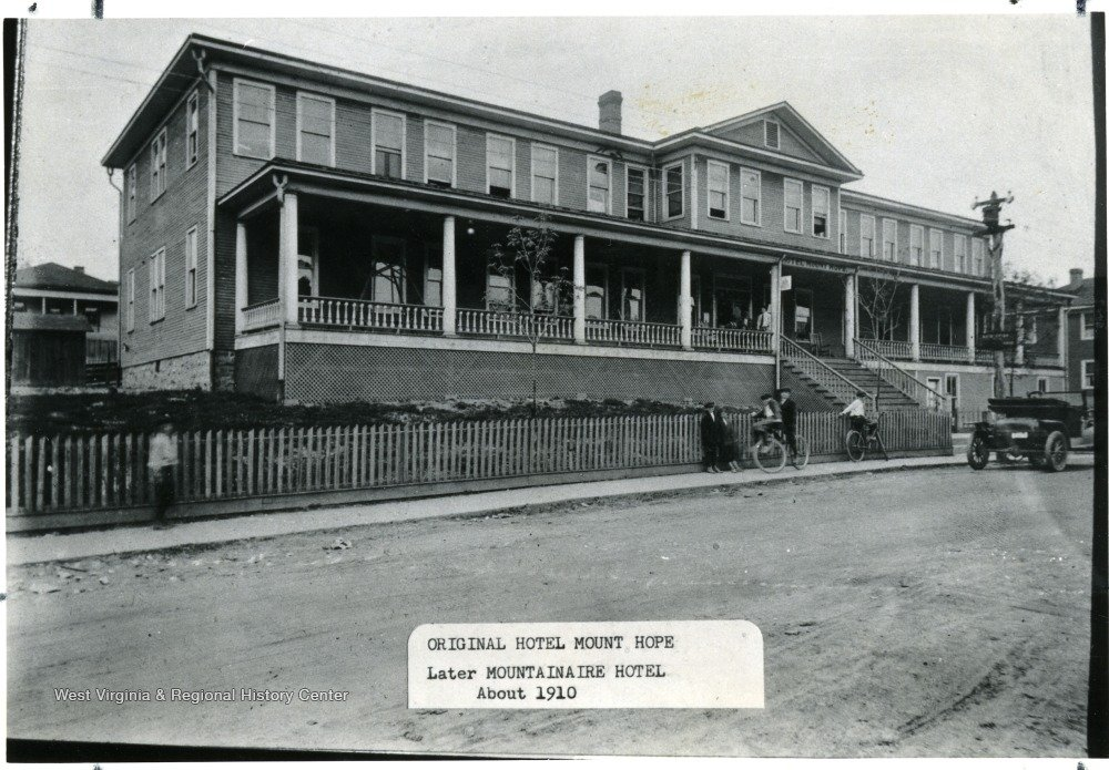 Street view of The Hotel Mount Hope.  