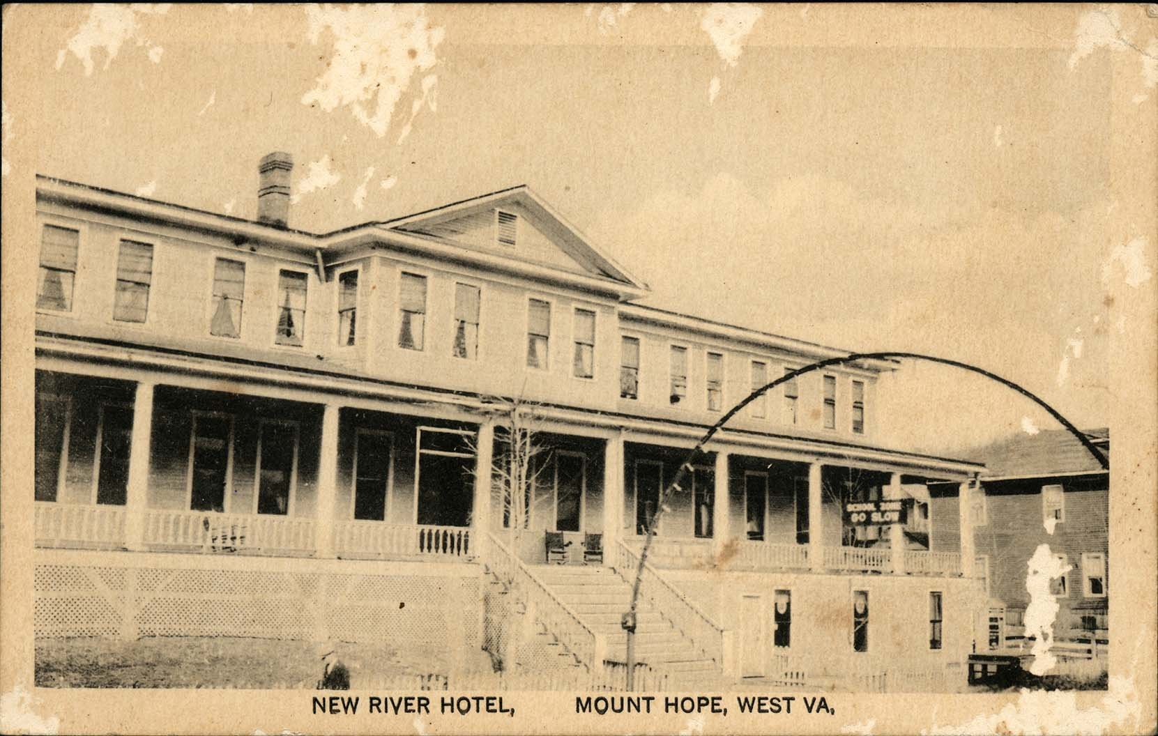 New River Hostelry or New River Club House.