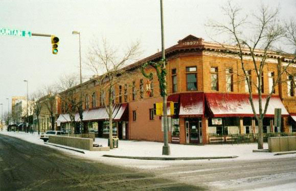 North College (1997). The Town Pump first began serving New Belgium's Fat Tire in 1991.