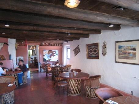 The Interior of Las Mañanitas (when it was a restaurant)