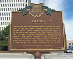 Toledo Marker in front of the Government Center.