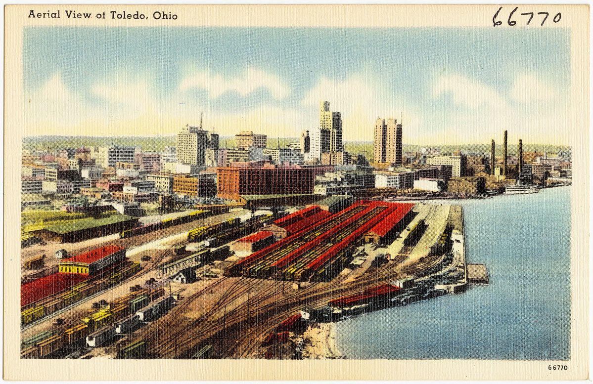 A Toledo postcard, circa the 1930s.