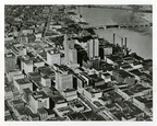 An aerial view of Toledo, date unknown.