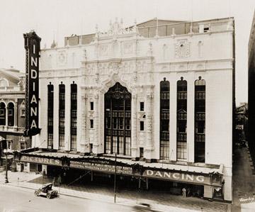 Indiana Theatre, 1926-1927