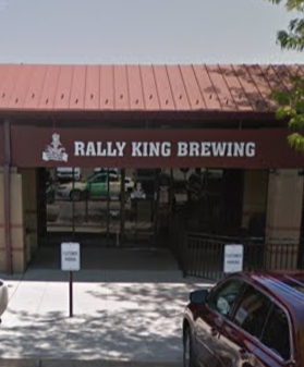 Rally King Brewing Storefront in May, 2018.
