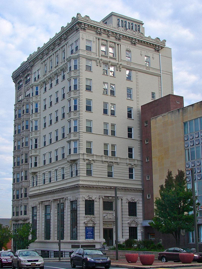 The former Allentown National Bank as seen from Center Square.