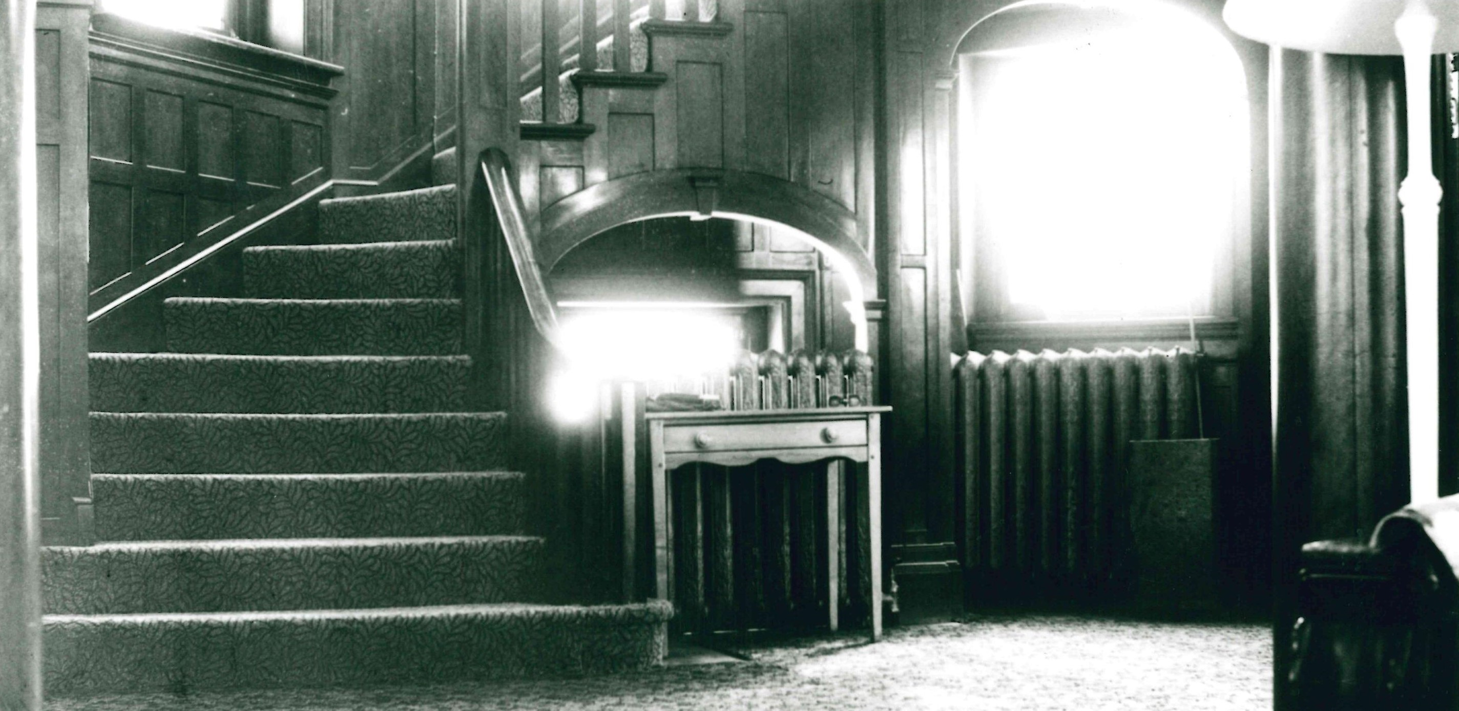 Image 2, Main Staircase during Red Cross era, 1950's