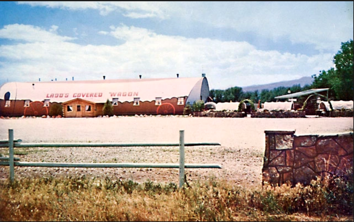 Ladd's Covered Wagon c.1955