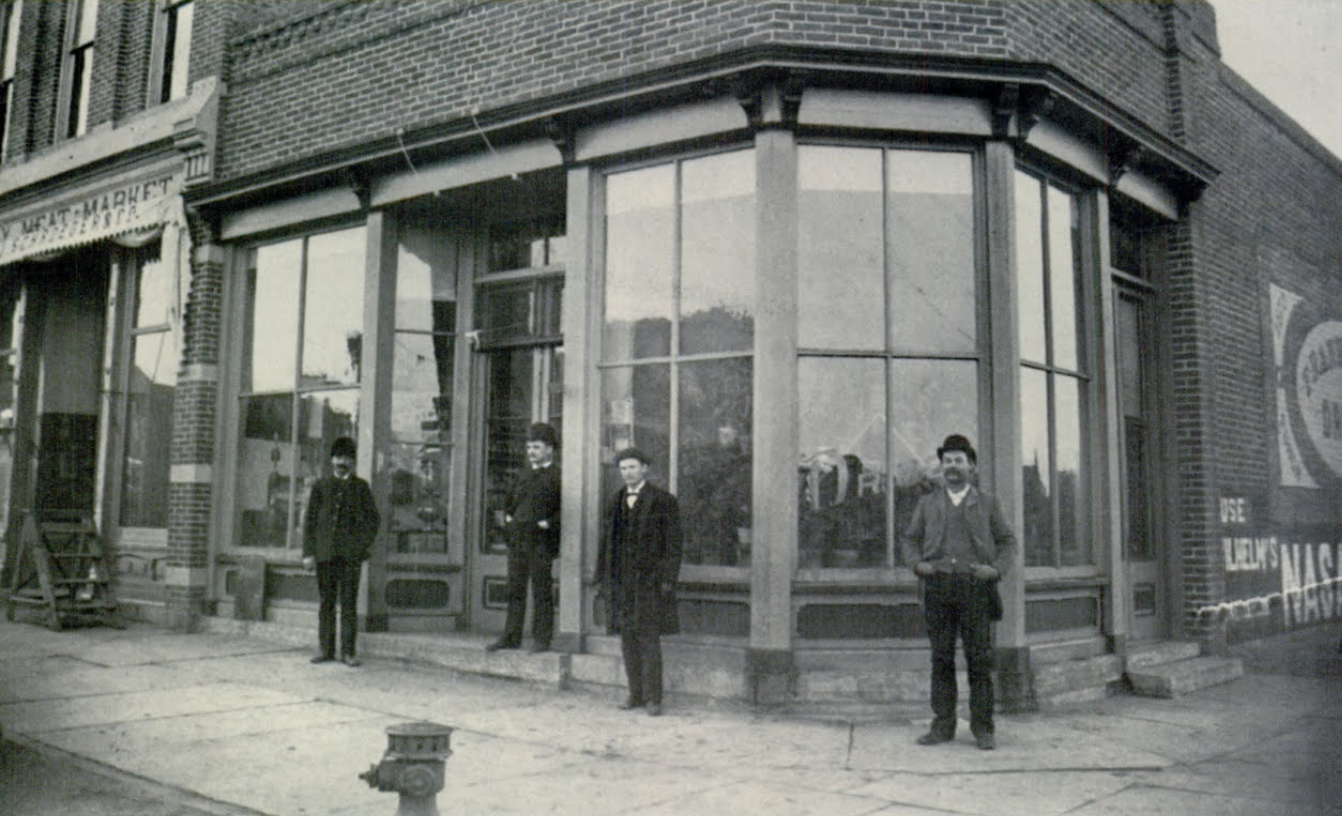 F. P. Stover's Drugstore in 1888.