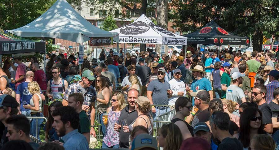 Colorado Brewers' Festival 2018.