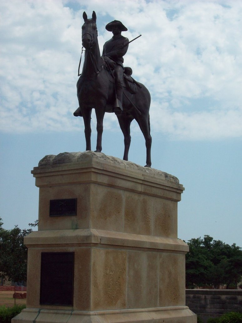 The Old Trooper Monument