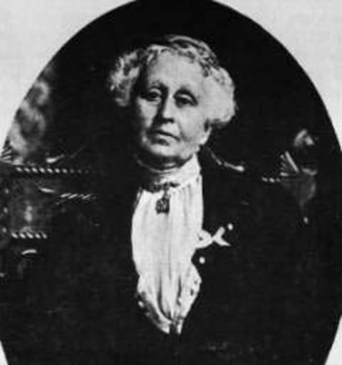 Mrs. Lucy McIntyre portrait