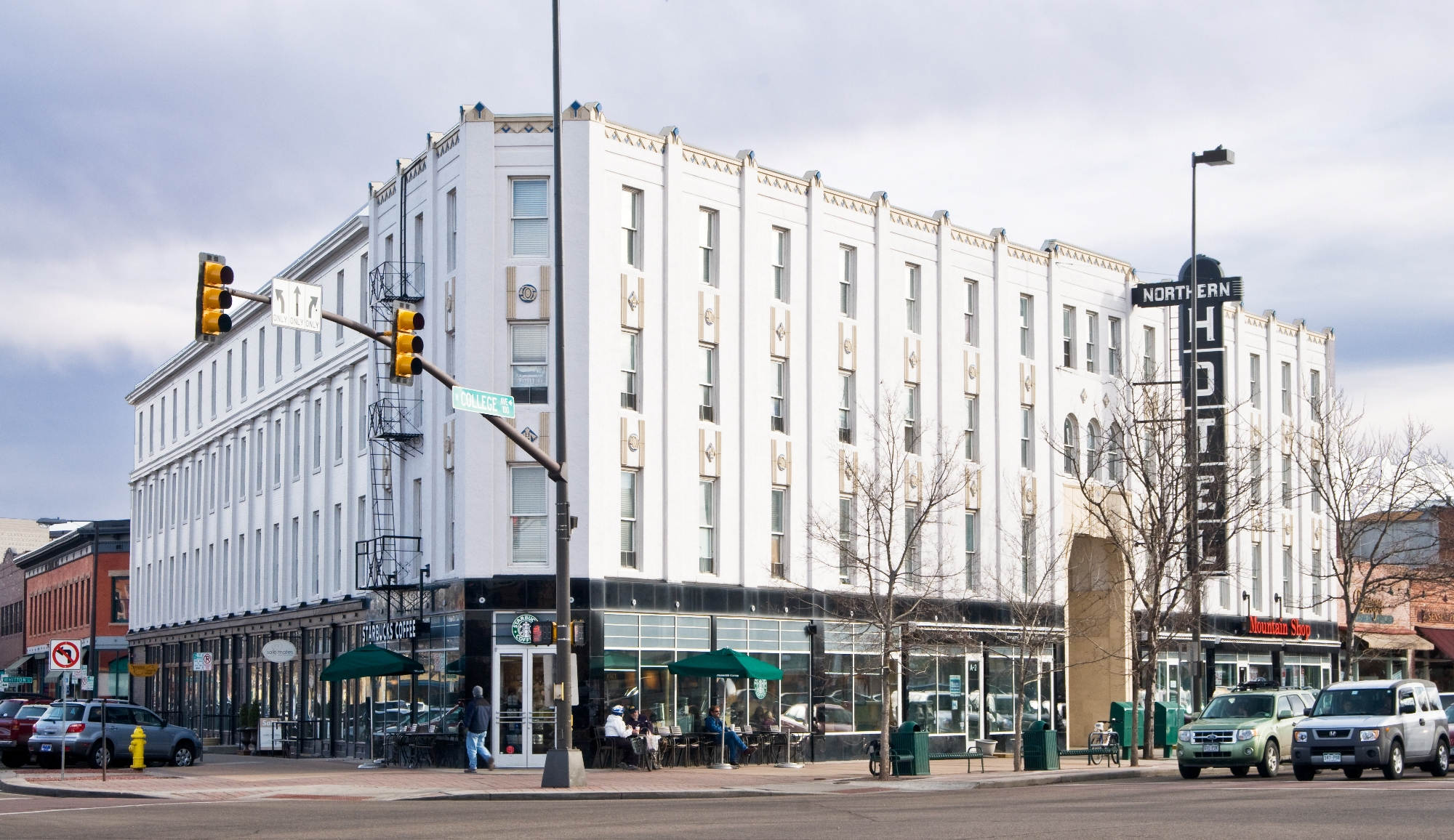 The Northern Hotel in Fort Collins, the original site of the Old Colorado Brewing Co.
