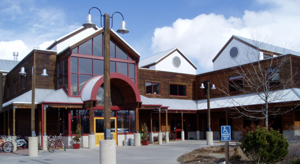 The front side of New Belgium Brewing