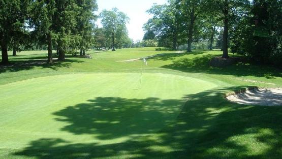 A golf course in Ottawa Park
