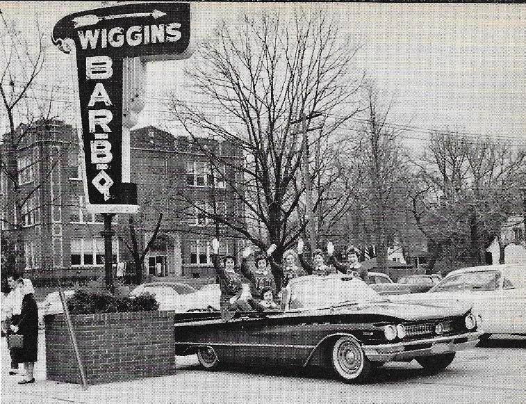 Fifth Avenue Wiggins during the HHS 1961 State Basketball Championship Parade