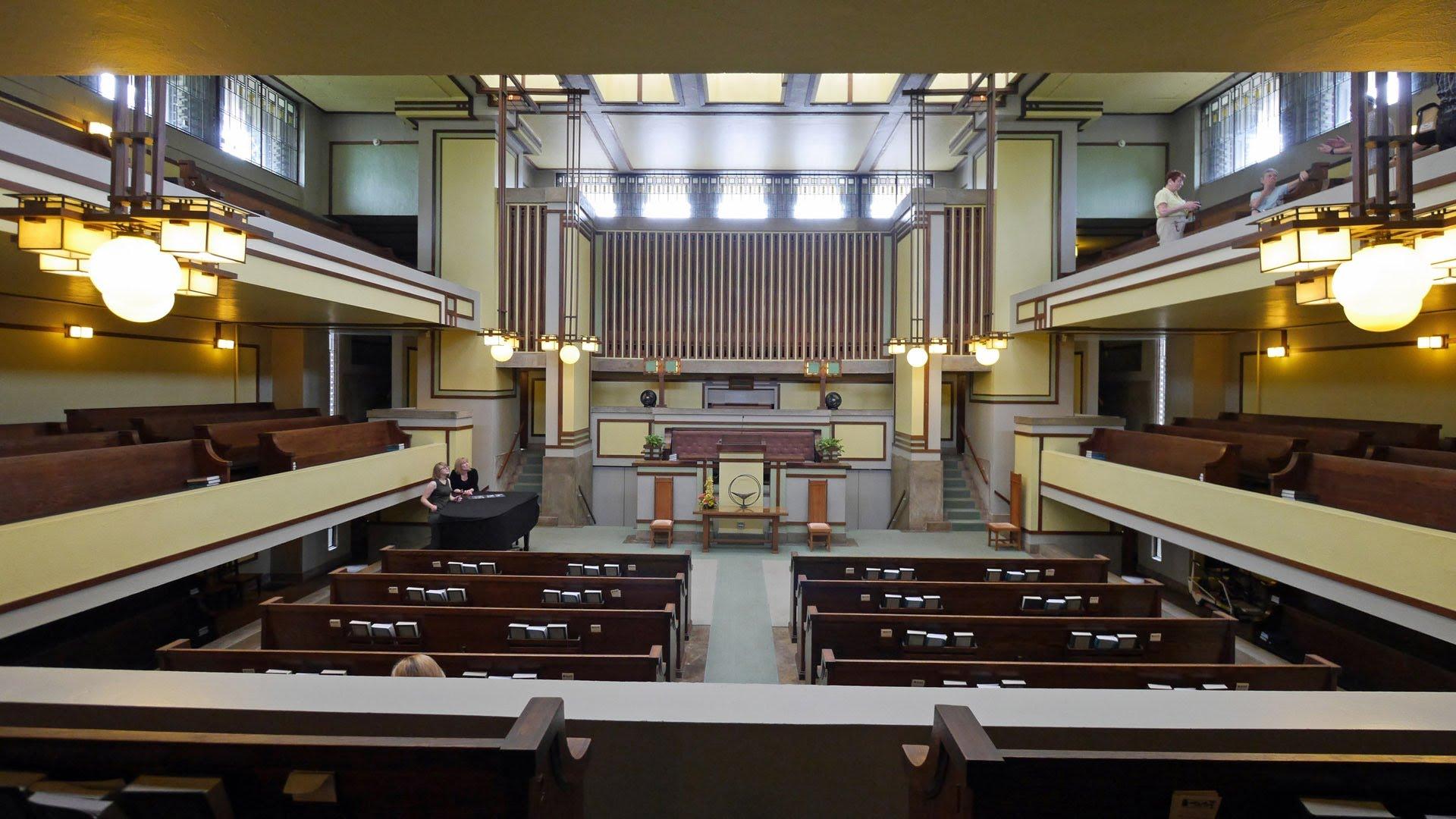 Unity Temple interior