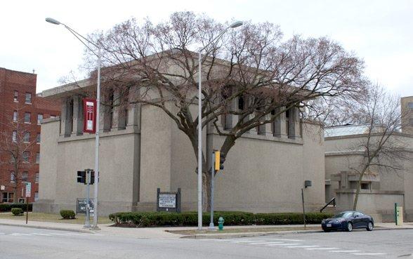 Unity Temple exterior