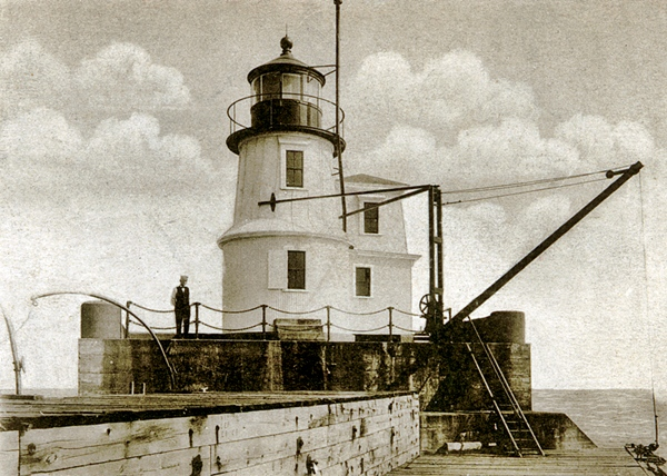 One of the early lighthouses