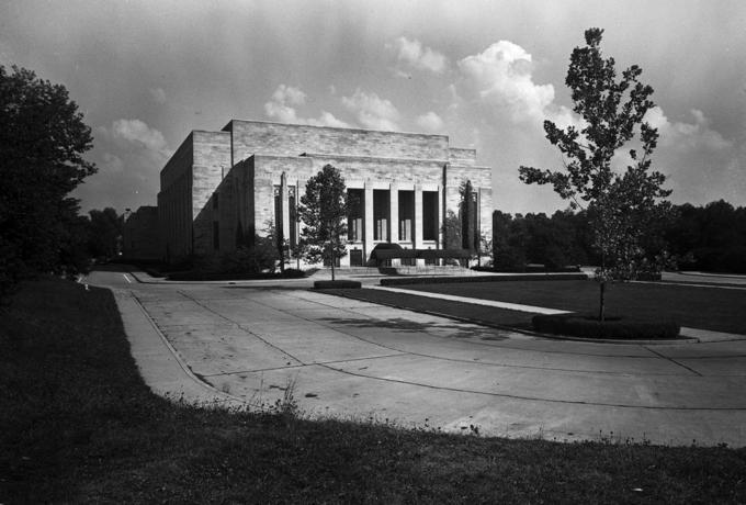 IU Auditorium 1941