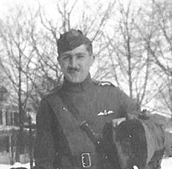 Louis Bennett Jr. (1894-1918) became the ninth most successful ace pilot in World War I. He was killed in action on August 24, prompting his mother to dedicate a number of memorials to his honor in both the U.S. and Europe.
