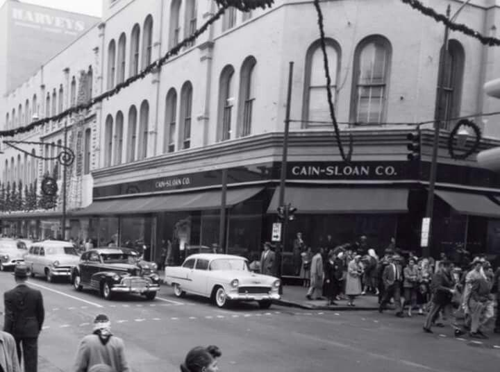The Cain-Sloan Department Store.