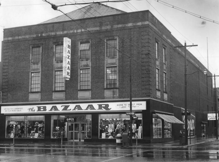 The Bazaar when it opened in 1961.