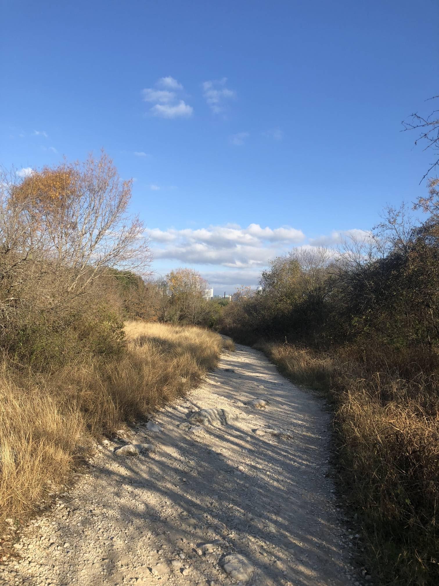 Image of the Barton Creek Trail.