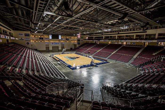 Basketball Arena View