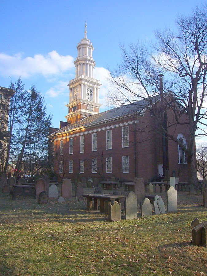 First Church of Christ (now First Church of Christ in Hartford), built in 1807 - the fourth building of a church formed in 1632 in Massachusetts before moving to Connecticut in 1637.