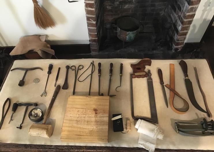 Surgical instruments. Credit: TripAdvisor