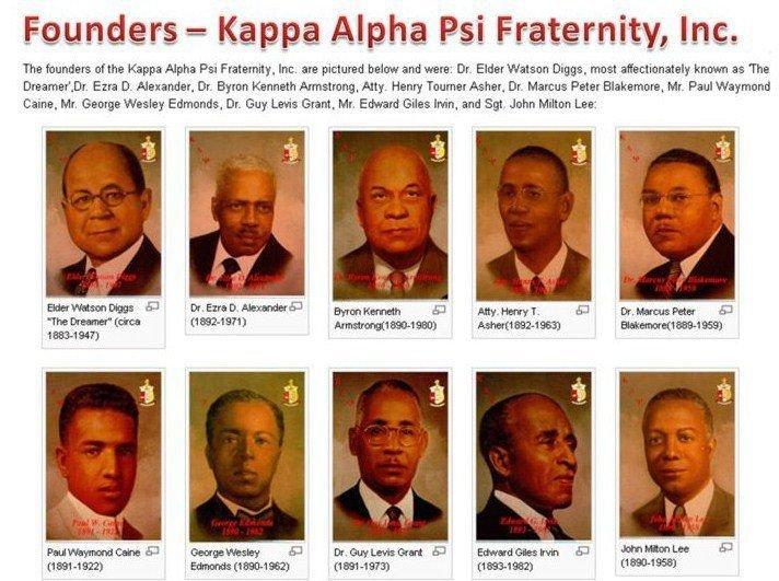Kappa Alpha Psi founders