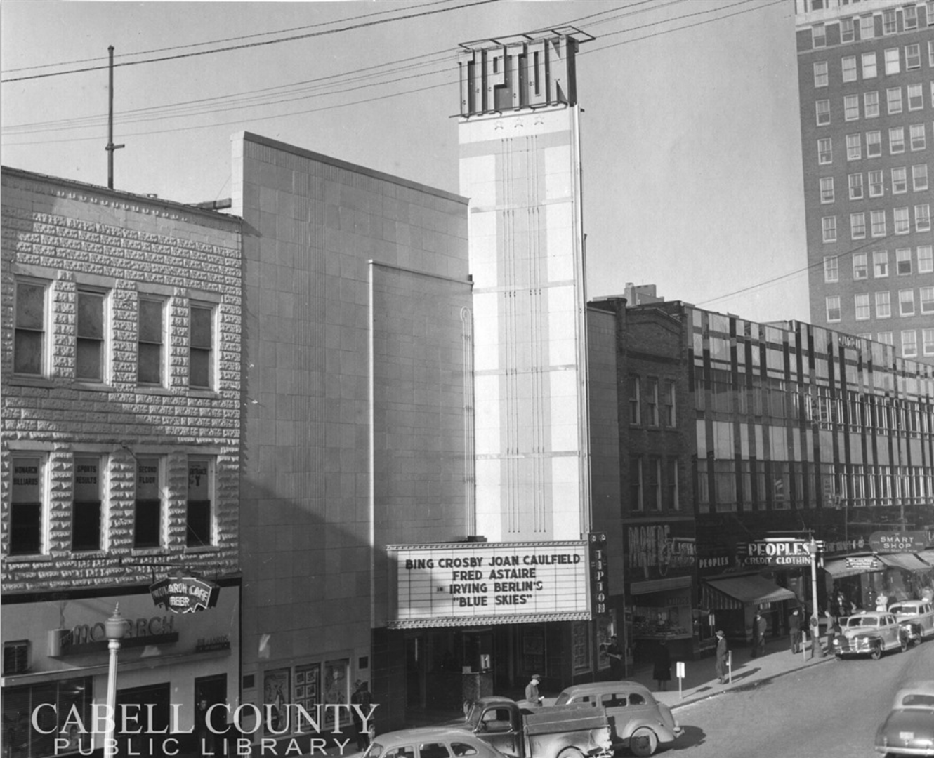 The Tipton Theater, 1947
