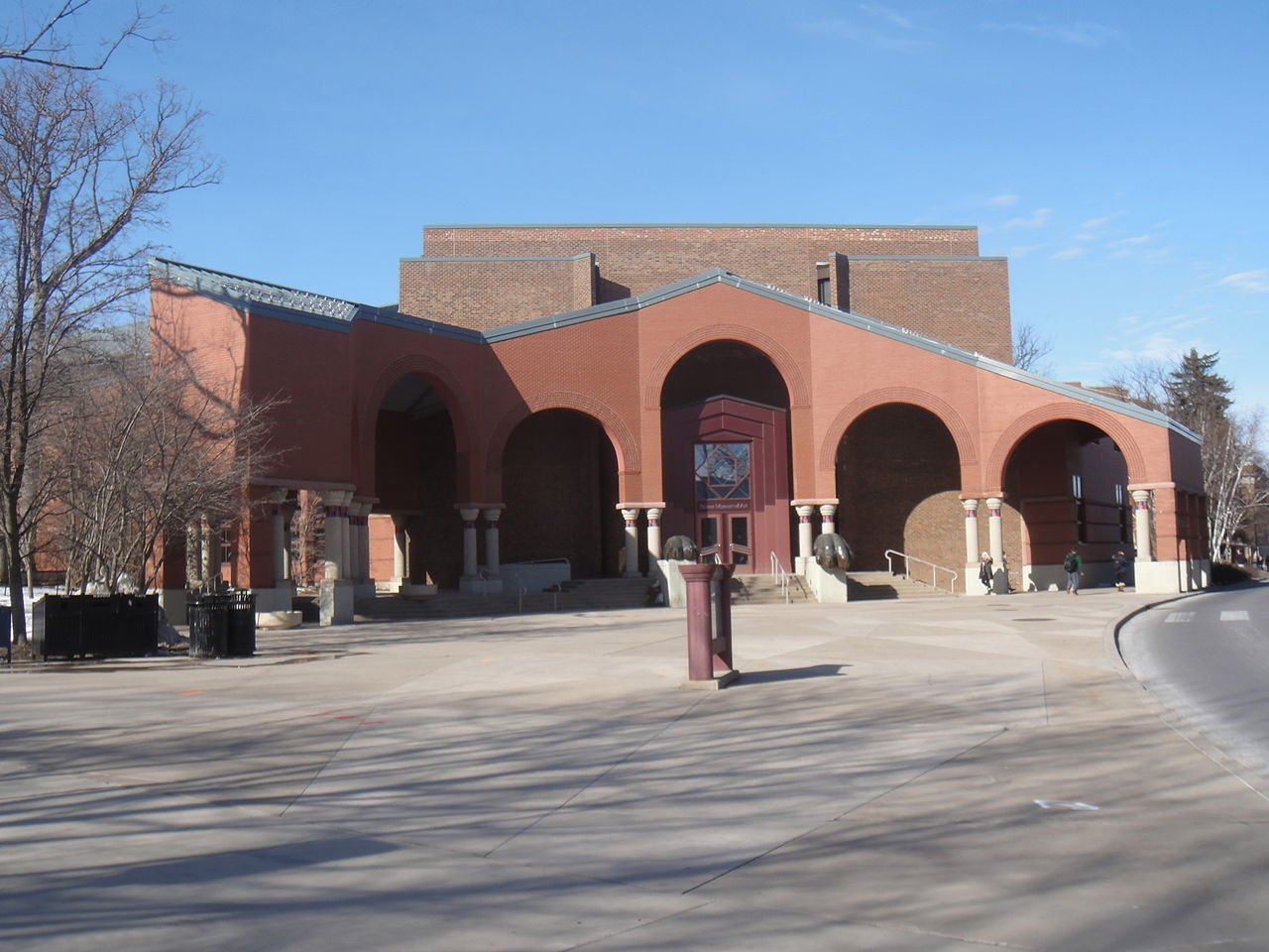 The Palmer Museum of Art features an impressive collection of art from around the world.