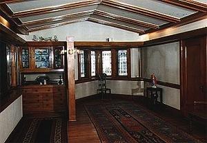 Arthur Heurtley House interior room