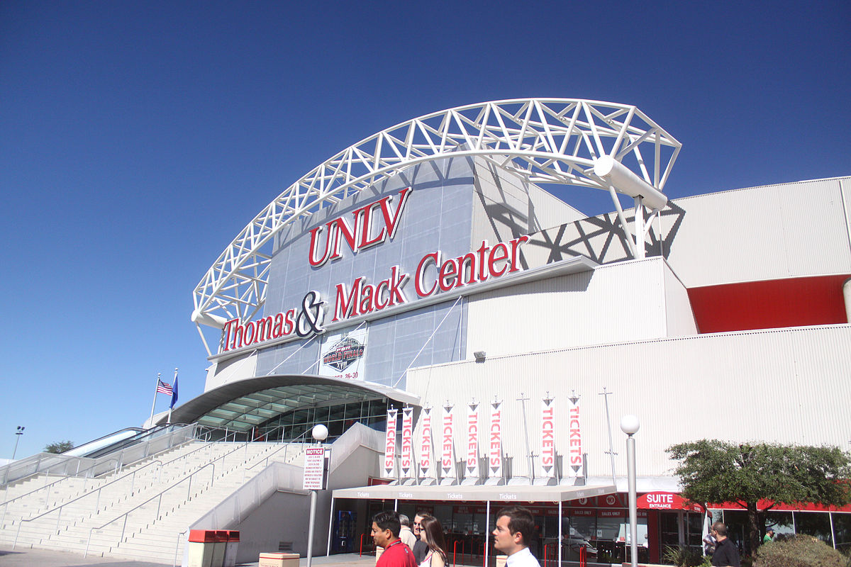 The arena has hosted various sporting events and other entertainment since opening in 1983.