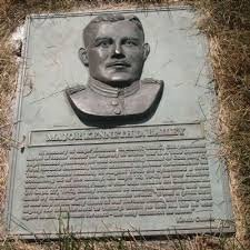 Located in Danville, Illinois, Major Bailey's plaque explains the commitment and accomplishments he made during his lifetime.