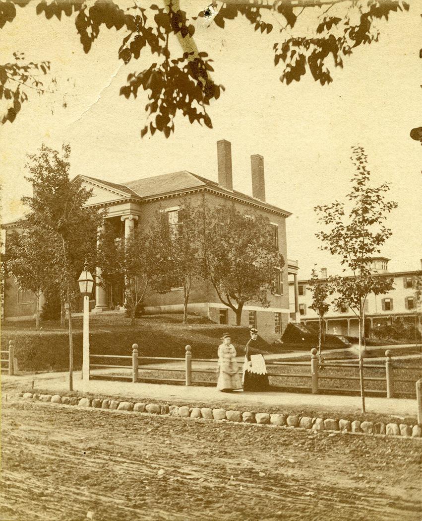 Abbot Hall, 1880s