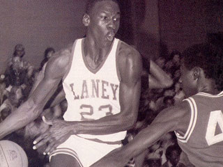 MJ in High School