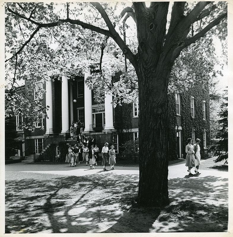 Abbot Hall, 1951, by George Woodruff