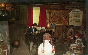 Inside of Schoolhouse