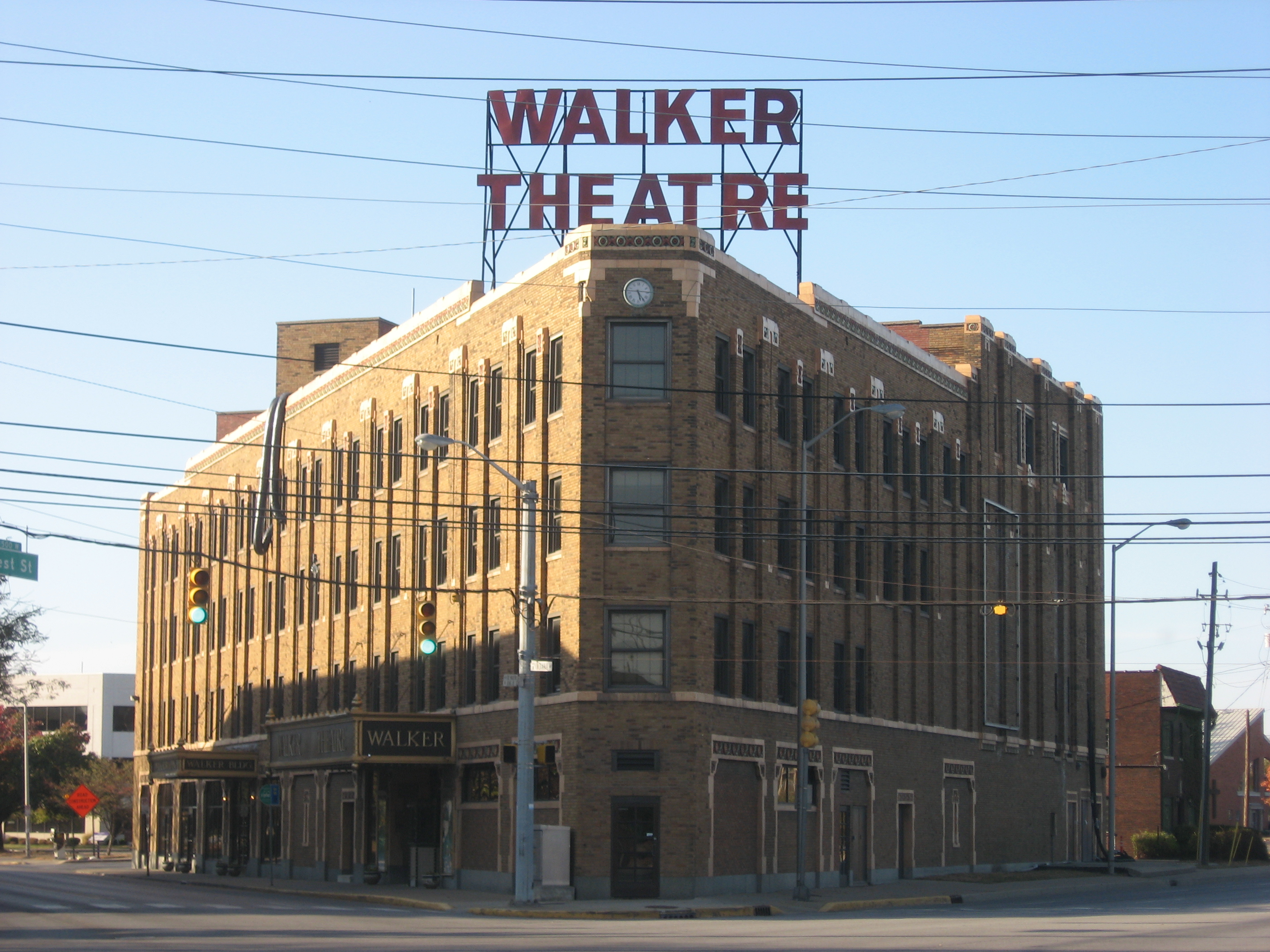 The Madame Walker Theatre Complex is now home, not only to a theatre, but also a full performing arts center.