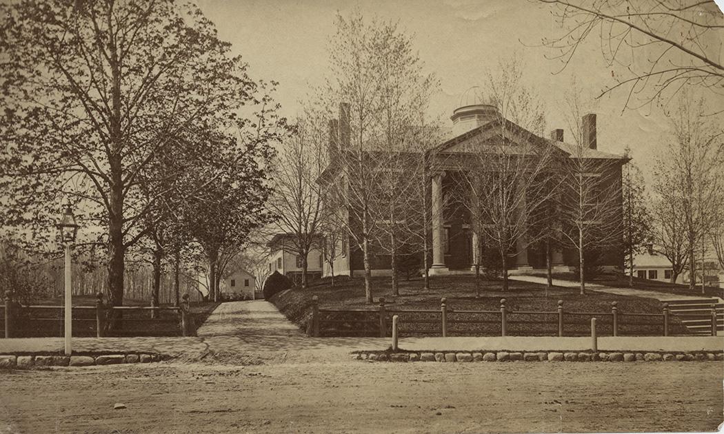 Abbot Hall facing School Street