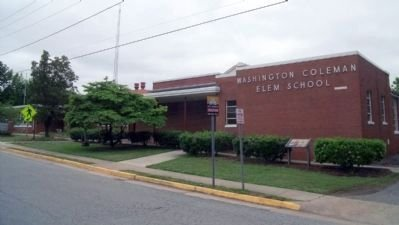 Washington-Coleman Elementary School (formerly the Booker T Washington High School)