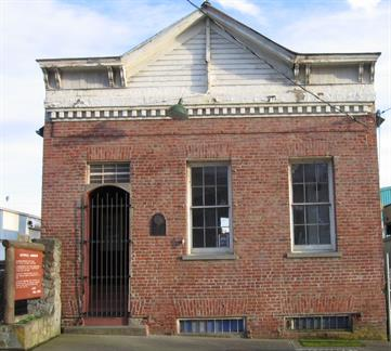 The Richards Building, erected in 1858, is the oldest brick structure in the state.