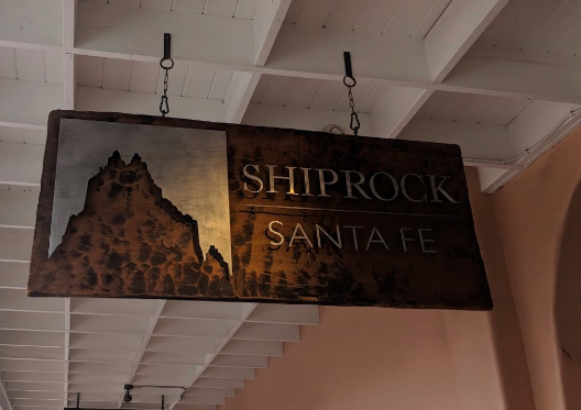 The Shiprock Gallery Entrance Sign