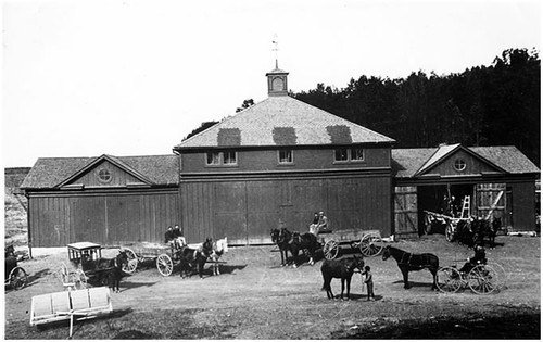 This photo, from Onward State, is of the original creamery building when it was called the  State College Creamery. The creamery has changed buildings numerous times throughout the years.